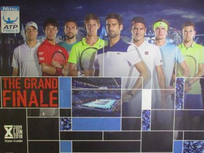 537. UK ATP Tour Final in London 錦織選手をロンドンで観よう!3 [イギリス滞在編]
