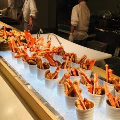 *19'6月初夏。日本最大級の露天風呂と3大蟹食べ放題で有名な登別温泉「まほろば」へ♪