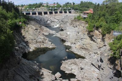 カナダ東部5州、ドライブ旅行2018 Day14-3(Grand-SaultのGrand Falls)