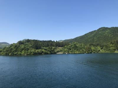 2019箱根女子旅~2日目元箱根旧街道歩き&芦ノ湖で海賊船に乗る