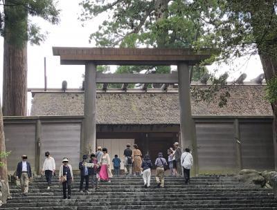 令和になったから平成を感謝して伊勢神宮を参拝しました