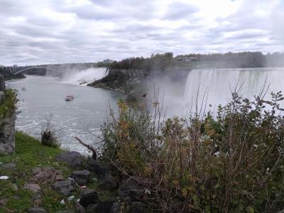 2018 レンタカーでカナダの黄葉とナイアガラの滝を満喫する旅 Day6 ナイアガラの滝