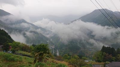 四国四県2泊3日家族旅行 (2)祖谷の里
