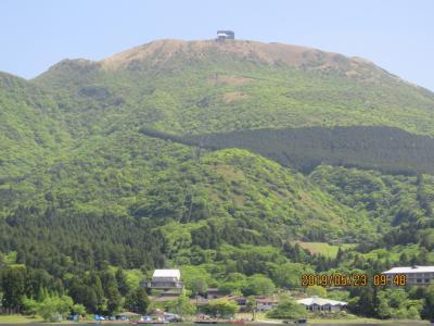 令和元年も箱根温泉旅行をしました⑫桃源台~元箱根(海賊船に乗る)