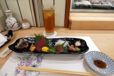 つばさ寿司 本店の夕食