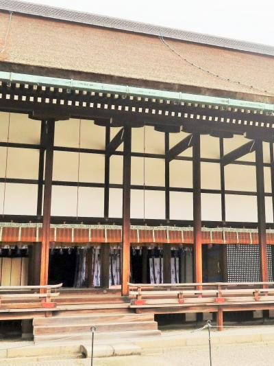 京都平成22 京都御所c 清涼殿 天皇の執務/儀式の場 ☆春興殿・小御所付近も