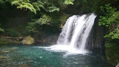 伊豆ジオパーク - 4  河津七滝の初景滝(しょけいだる)を見る