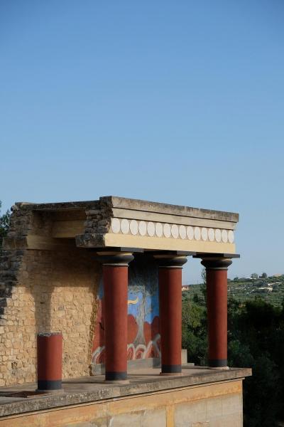 ギリシャ観光2019 アテネ近郊とエーゲ海クルーズ その8 イラクリオン クノッソス宮殿跡と考古学博物館見学