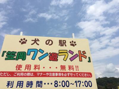 岡山☆道の駅のドッグラン