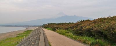 沼津・千本浜へ朝の散歩