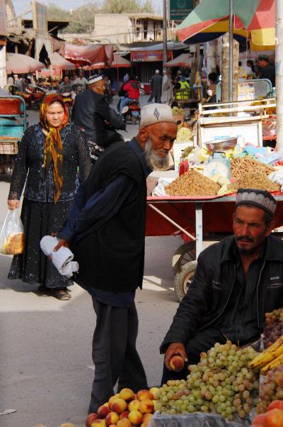 2013年中国新疆放浪記117・喀什大利貿易市場から回城老街へ~後編