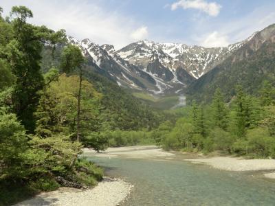 信州長期滞在7日間岩岳、八方尾根、上高地を歩く