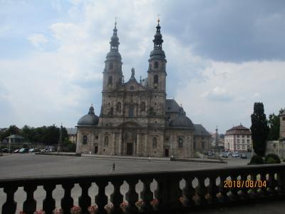 フルダの市宮殿と大聖堂