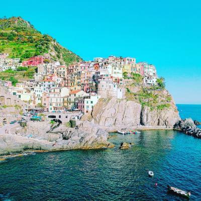 4連休でイタリア・ベルギーひとり旅②チンクエテッレ5つの村巡り
