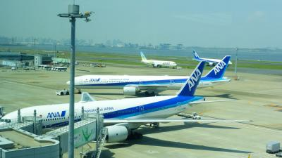 〔横浜ロイヤルパークホテル〕に泊まる、令和初誕生日記念旅行【羽田空港ターミナル2展望フロアからの眺望など編】