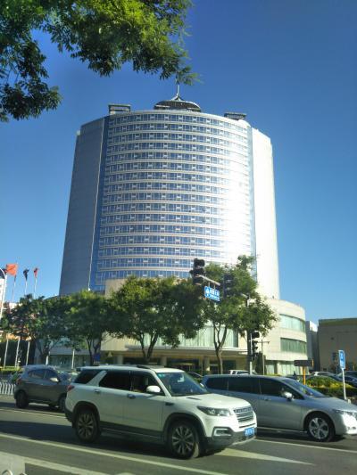 北京市通州区の『アジアパイフィックガーデンホテル』(亜太花園酒店)はこんなホテルでした。