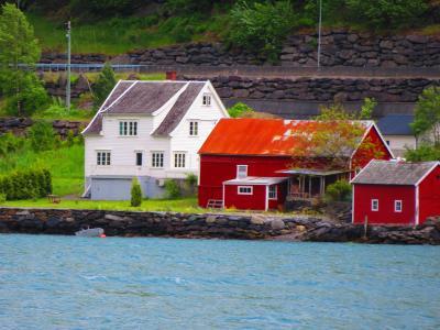 ノルウェー大自然に触れる旅 2019 ソグネフィヨルド観光 絶景の続きとベルゲン到着まで。 ③後編