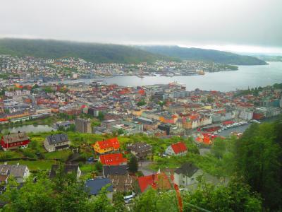 ノルウェー大自然に触れる旅 2019 ベルゲンの一日 また雨から始まった一日 ④前編