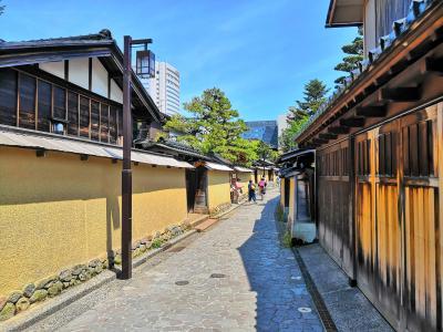 金沢の旅(最終目:金沢観光と金箔張り体験)