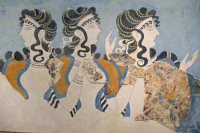 イラクリオン考古学博物館を見学