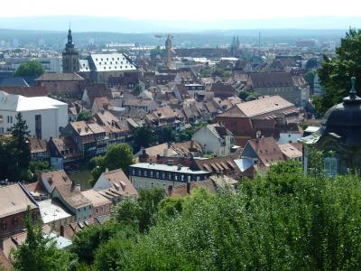 オーストリア・セルデン&ドイツ・ニュルンベルクとミュンヘンの旅【22】 バンベルグの町並み