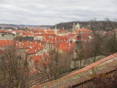 冬のプラハ