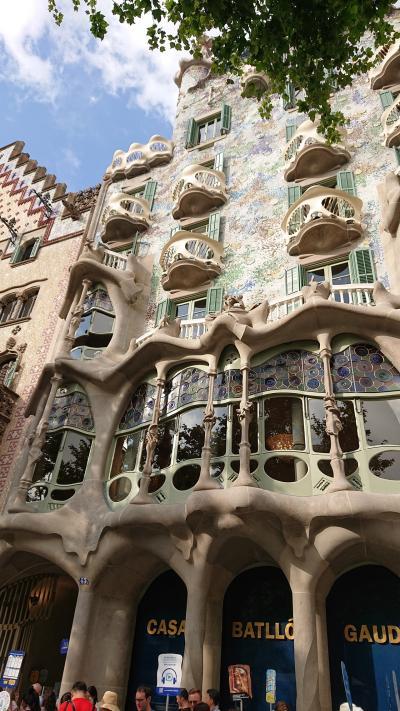 バルセロナ3日間!おいしい物を食べて、モデルニスモにひたる旅②