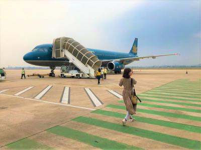 2019令和のはじまりはカンボジアで①福岡出国~ノイバイ~シェムリアップ空港編