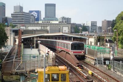 丸ノ内線の全28駅を自転車でサイクリングしながら博物館めぐりしてみた