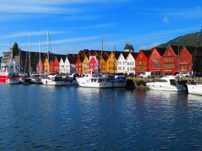 ノルウェー大自然に触れる旅 2019 ベルゲンの一日 雨で終わると思った街歩き、最後には太陽が顔を出した ④後編