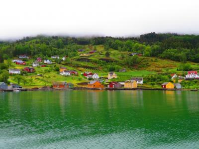 ノルウェー大自然に触れる旅 2019 ハダンゲルフィヨルドの大自然 「フィヨルドの女王」の絶景を堪能します。 ⑤前編
