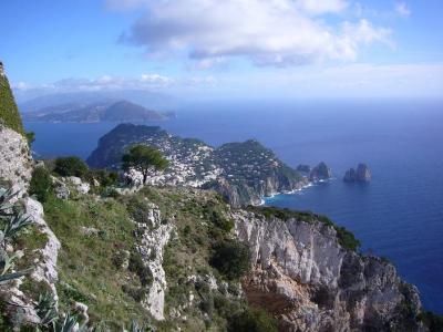 南イタリア7日間の旅(2) カプリ島