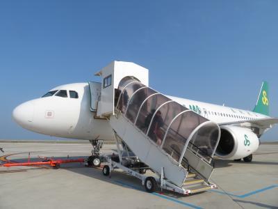 初めての春秋航空♪世界に誇る日本の玄関口♪関空第二ターミナル♪ピーチもいたよ♪2019年6月 中国 揚州・鎮江 7泊8日1人旅(個人旅行)1