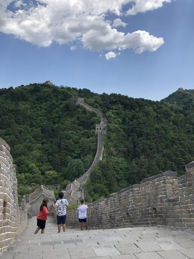北京 中高年女子ひとり旅3 慕田峪長城
