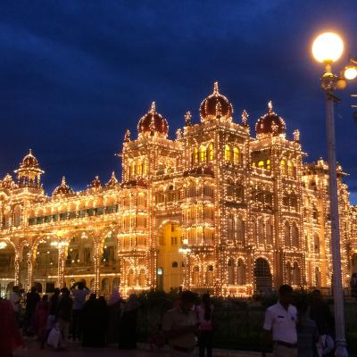 南インドマイソール:マハラジャの栄華