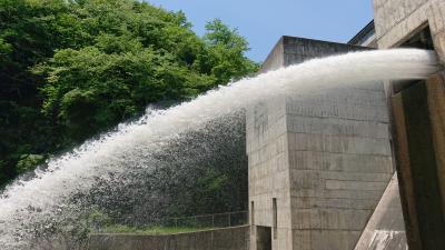 1泊2日 栃木 (3-3) 塩原温泉 もみじ大吊橋と塩原ダム見学ツアー