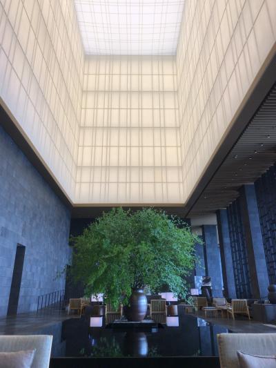 憧れのアマン東京にお泊り  19年6月 2/2