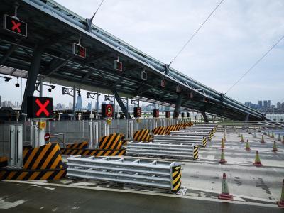 バスでマカオ、新しい橋を渡ってみた。