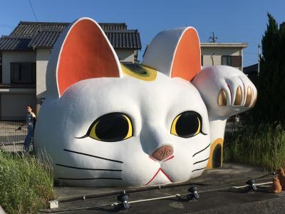 招き猫いっぱい(^^) 常滑トコトコお散歩の巻