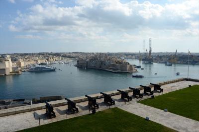 マルタ島6日間の旅(1)イスタンブール経由でマルタ着、ヴァレッタ市内観光