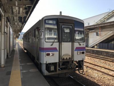 広島県内ローカル線(福塩線・芸備線代行バス)日帰り旅