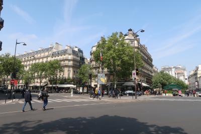 妖艶なパリ風景。直線、大通り、オスマン様式