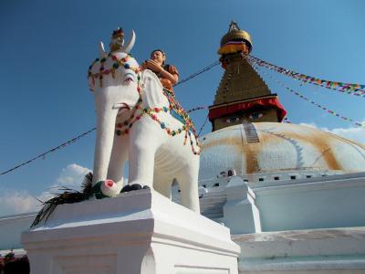 2019 GW ネパール、タイと韓国(少々)の旅⑥ 世界遺産の町 ボダナートへ行くの巻