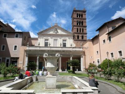 2019GW イタリア12:世界遺産ローマ トラステヴェレ地区とジャニコロの丘