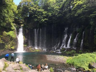 男一人で富士宮の白糸ノ滝に行ってきた
