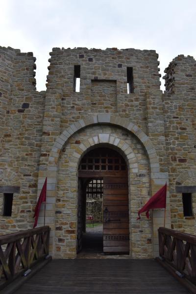 大城塞とゲオルゲ修道院 ~ ルーマニア・スチャバ ~