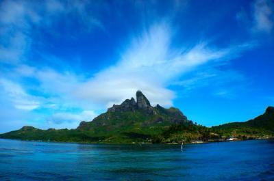 南太平洋の楽園、念願のタヒチ、ボラボラ島に!