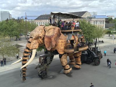超巨大マンモス象 Grand Éléphant♪レ・マシーン・ド・リル♪2019年5月 フランス ロワール地域他 8泊10日(個人旅行)43