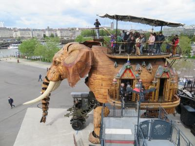 ナント島 マンモス象の腹から人がいっぱい出てきた♪レ・マシーン・ド・リル2019年5月 フランス ロワール地域他 8泊10日(個人旅行)44