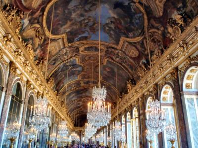 2018夏 フランス・ドイツ周遊 5日目 ベルサイユ宮殿半日観光 ゴージャス世界観にクラクラ